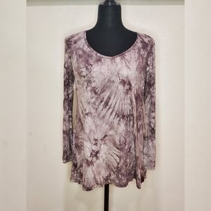 Made By Johnny Tie Dye Top Size L
